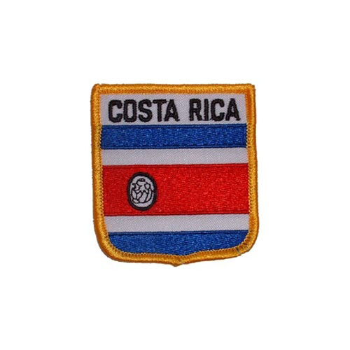 Patch-Costa Rica Shield