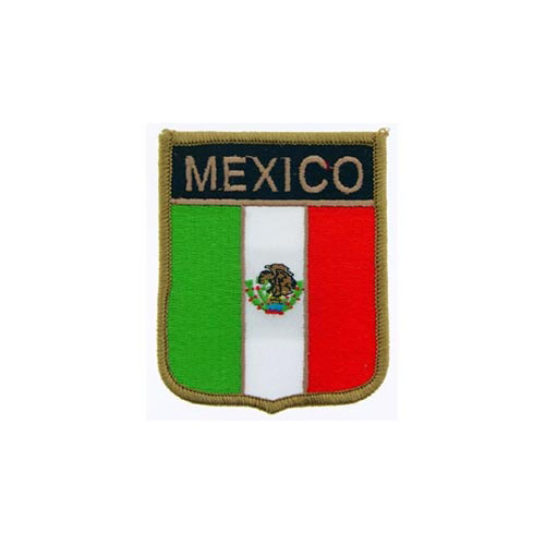 Patch-Mexico Shield