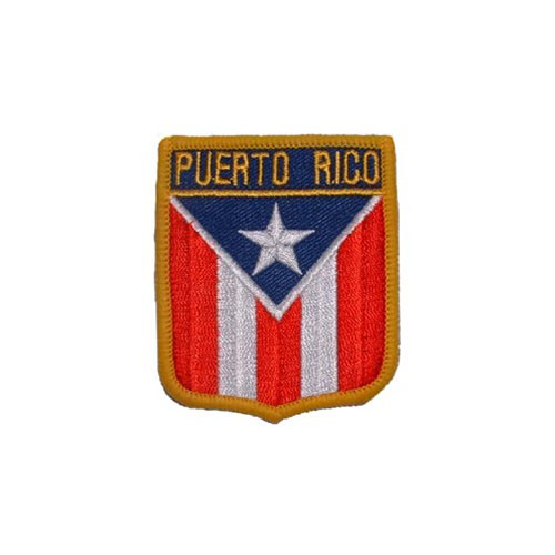 Patch-Puerto Rico Shield