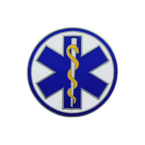 5 1/4 EMS Plain Logo Patch