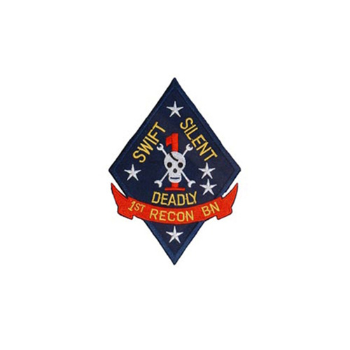 Patch Usmc 01st Recon Btl
