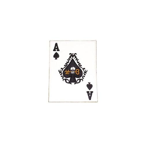 Patch Card Ace-Spade