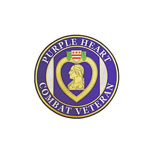 Purple Heart Combat Veteran Patch