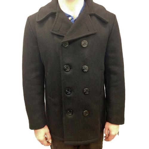U.S. Dark Navy Style Pea Coat
