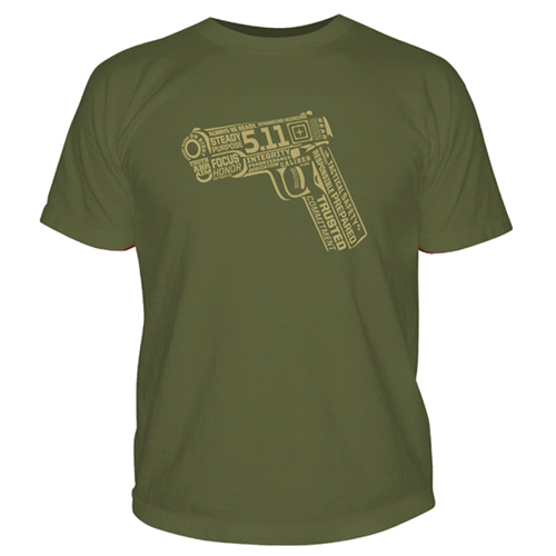 5.11 Tactical 45 Words or Less Logo T-Shirt
