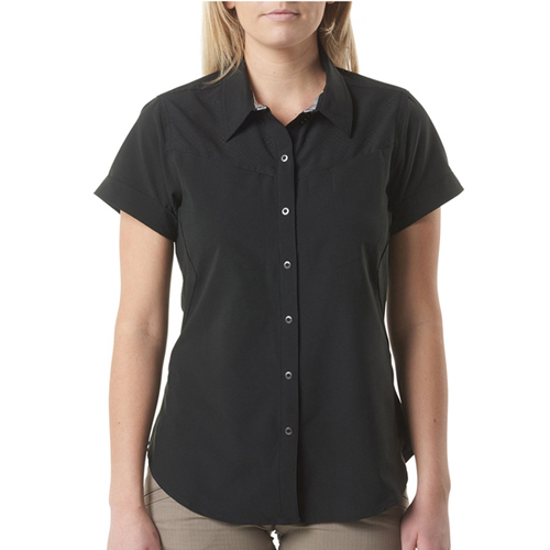 5.11 Tactical Womens Freedom Flex Woven Short Sleeve Shirt
