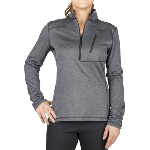 5.11 Tactical Womens Glacier Half Zip Sweatshirt