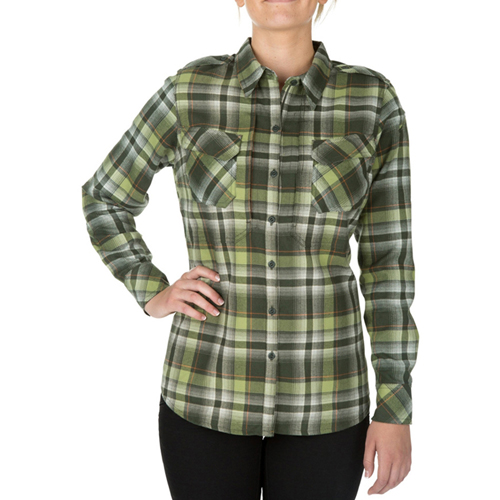 5.11 Tactical Womens Heart breaker Flannel Shirt