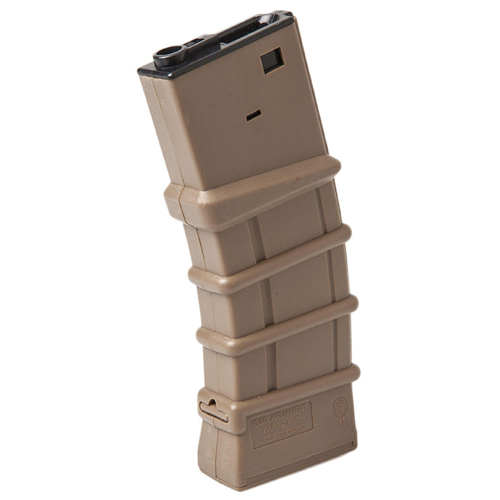 G&G HI-Cap Thermold Mag For M16-Desert Tan