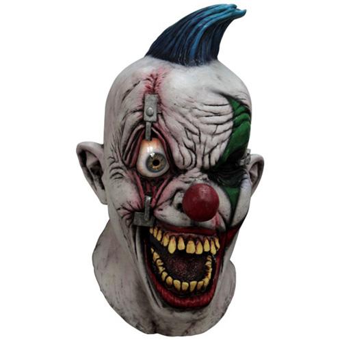 Scary Pinned-Eye Clown Mask