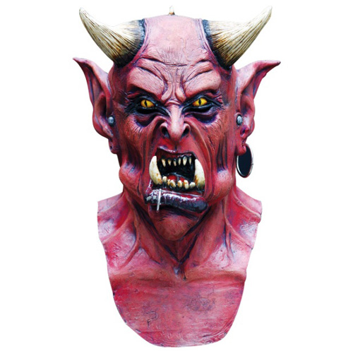 Uzzath Demon Costume Mask