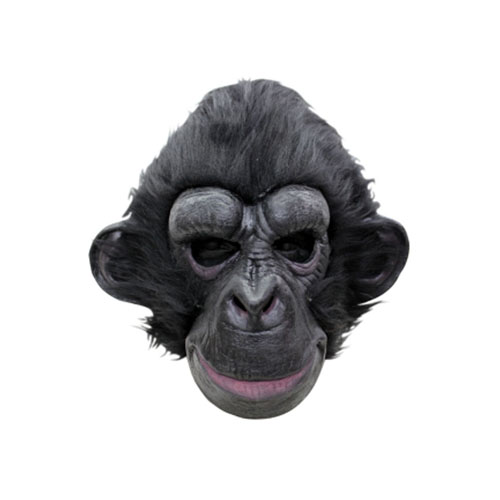 Black Chimpanzee Mask
