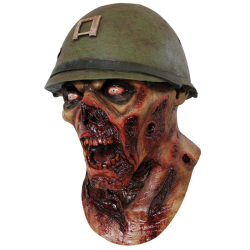 Zombie Private Captain Lester Mask