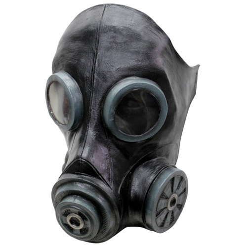 Smoke Black Gas Mask