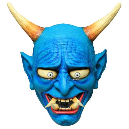 Oni Blue Demon Mask