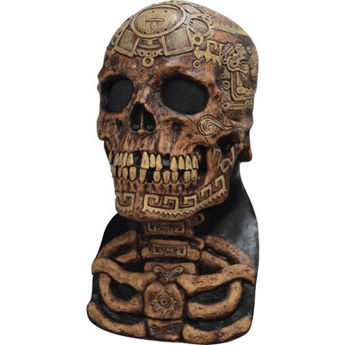 Aztec Skull Costume Mask