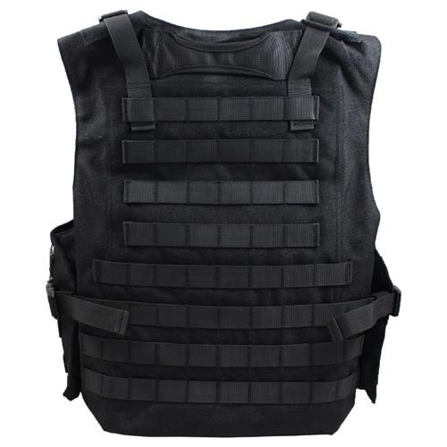 MOLLE Amphibious Tactical Black Vest