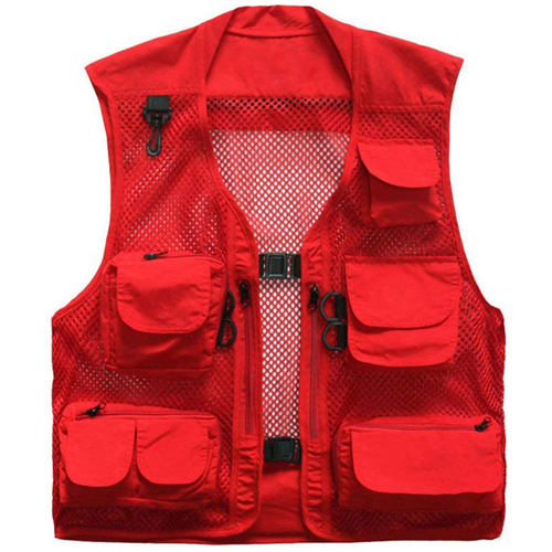Fishing 4 Pockets Vest