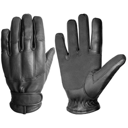 Kevlar Lined Leather Gloves with Knuckle Protection