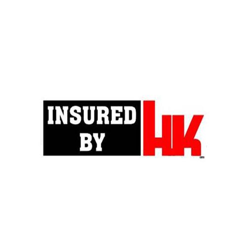 Insured By HK Sticker - One Size