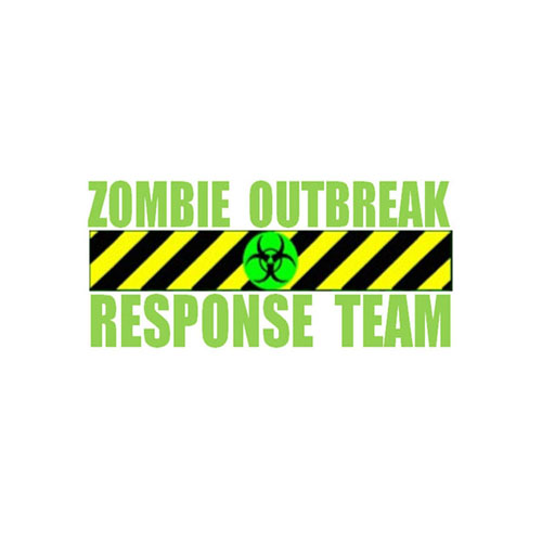 Zombie Outbreak Response Team Sticker - One size