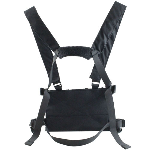 Tactical Magazine Chest Rig - Black