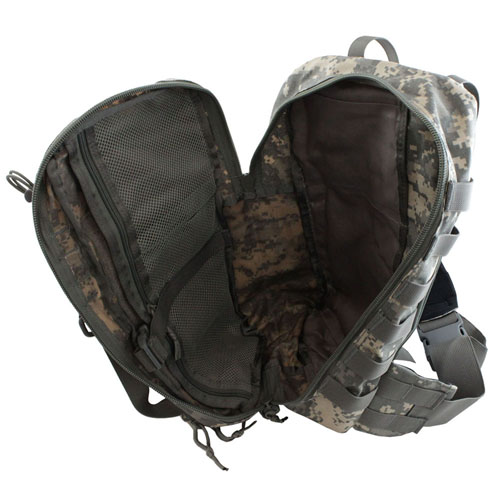 Tactical Crossbody Backpack - ACU Digital Camo