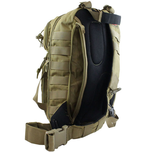 Tactical Crossbody Backpack - Tan