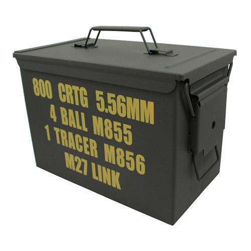 Gear Stock .50 Fat Cal Milspec Ammo Can