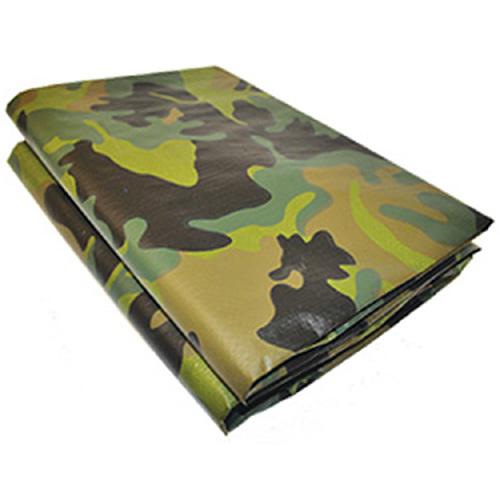Woodland Camouflage Polyethylene Tarp