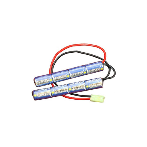 Butterfly Type Battery 9.6V 1600mAh with Mini Male Connector