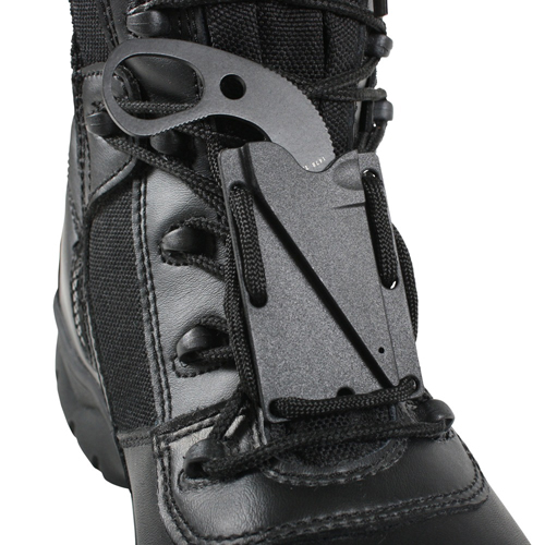 TDI Last Ditch Fixed Blade Neck Knife - Black
