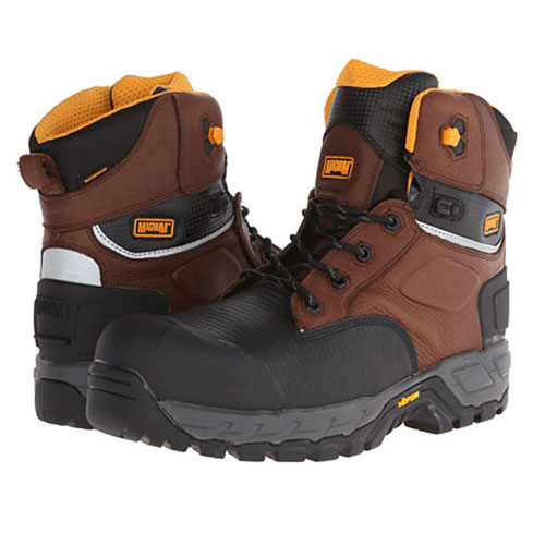 Magnum 6 Inch Leather CT CP Work Boots