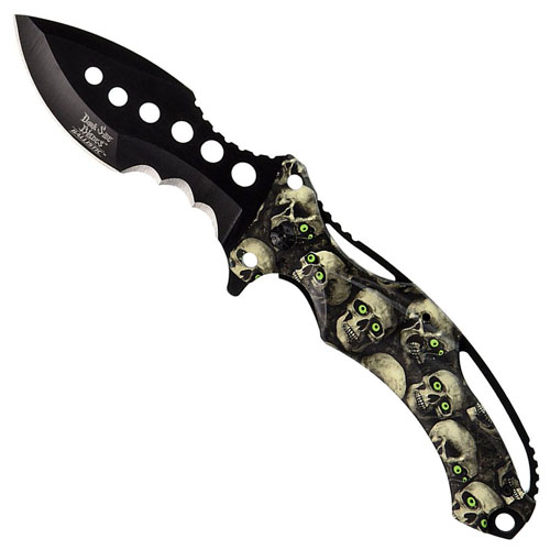 Dark Side Blades 5 Inch Spring Assisted Folding Knife