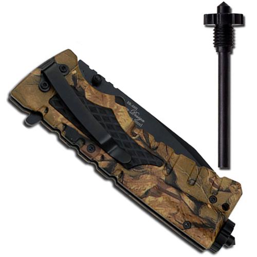 Elk Ridge Ballistic Spring Assisted Folding Knife