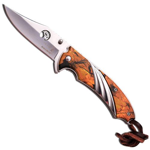 Elk Ridge Outdoor Camo Mirror ER-A540CA Folding Knife