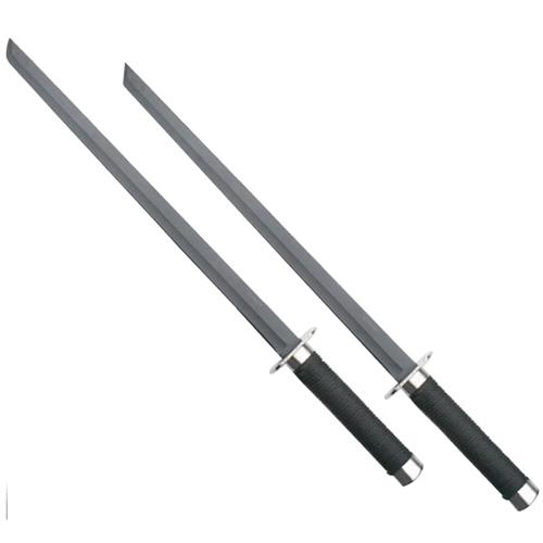 Heckler and Koch Ninja 25.5 Inch Black Twin Samurai Sword