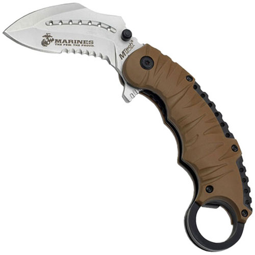 US Marines 5 Inch Closed Spring Assisted Folding Knife