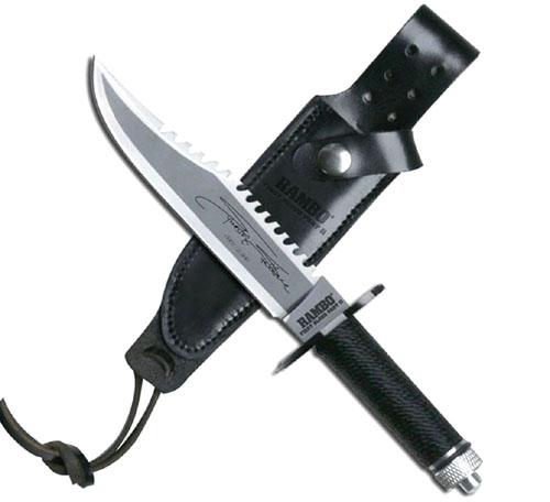 Mini Rambo II Hunting Fixed Blade Knife Set