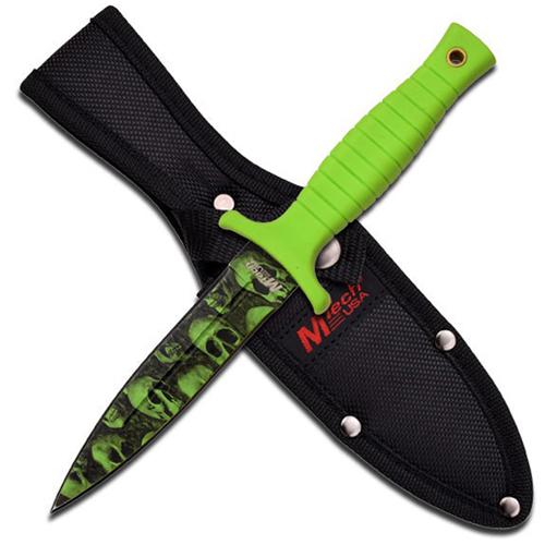 MTech Skull Camo Fixed Blade Knife