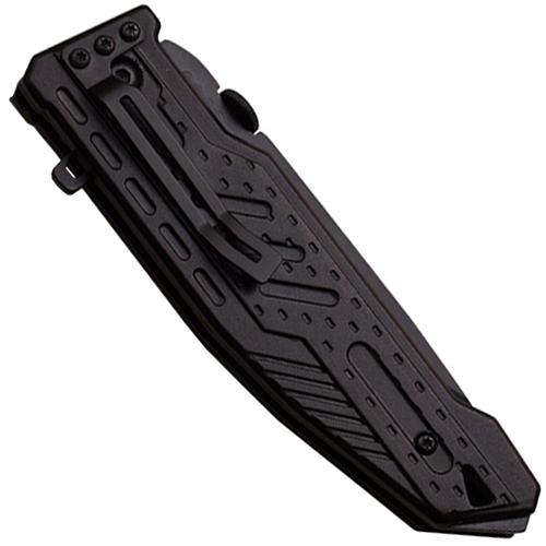 A940 2 Tone Anodized Aluminum Handle Folding Knife
