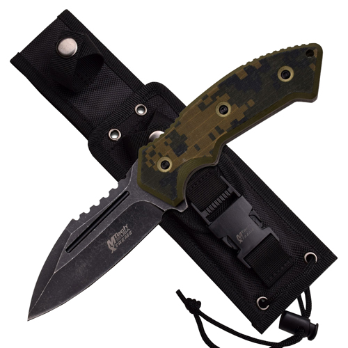 MTech USA Xtreme 8133DG Tactical - Fixed Knife