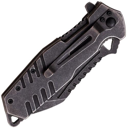 Xtreme Ballistic Fine Serrated Knife