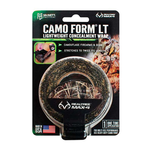 Mcnett Lightweight Realtree Max4 Camo Form