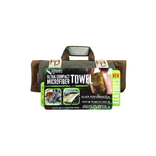 McNett Medium OD Green Tactical Microfiber Towel