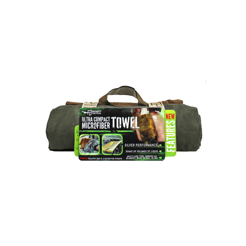 McNett Tactical Microfiber Extra Large OD Green Towel