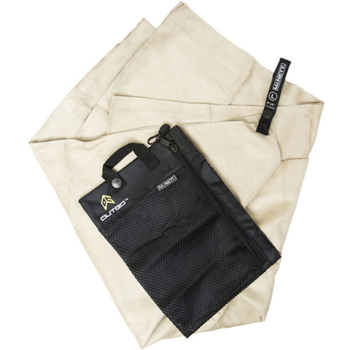 McNett Ultra Compact Microfiber Khaki Towel