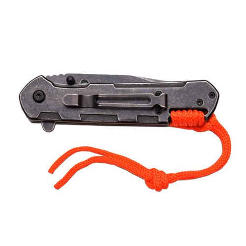 Tac-Force TF-872OR Stonewash Folding Blade Knife