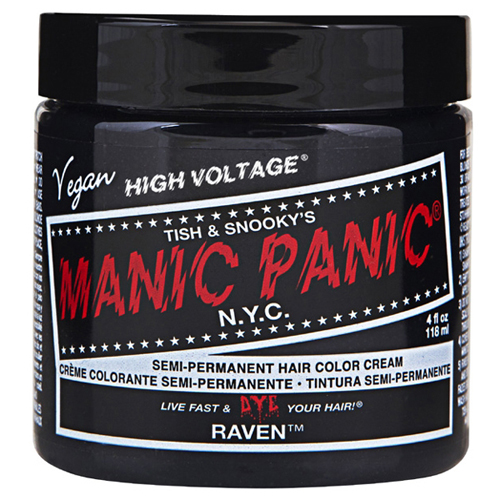 High Voltage Classic Cream Formula Raven Hair Color