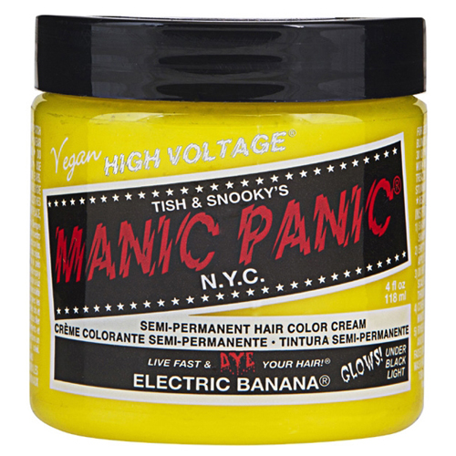 High Voltage Classic Cream Formula Electric Banana Hair Color